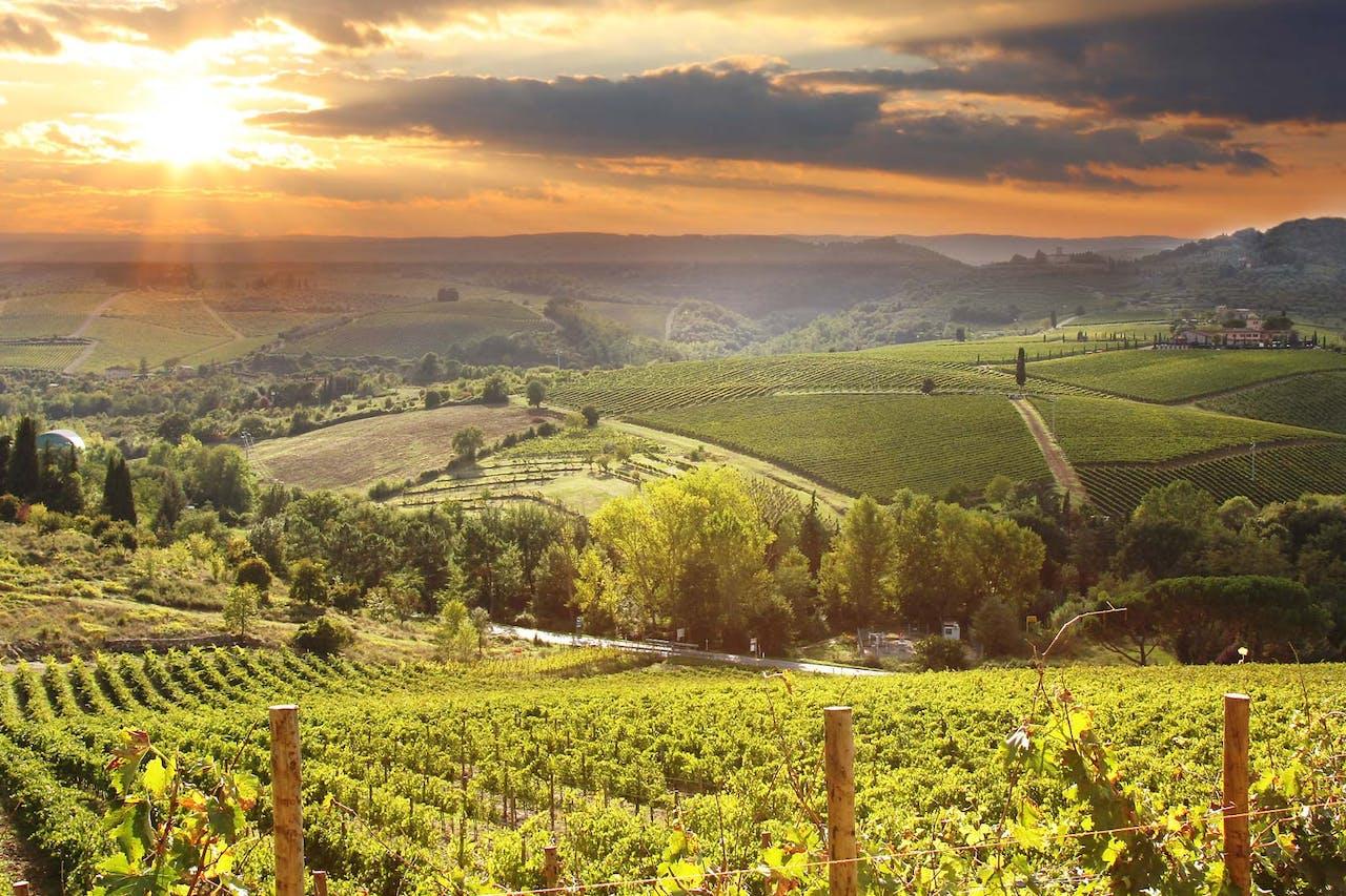 Karta Italien Chianti.Rundresa I Umbrien Och Det Centrala Toscana 8 Dagar Italien