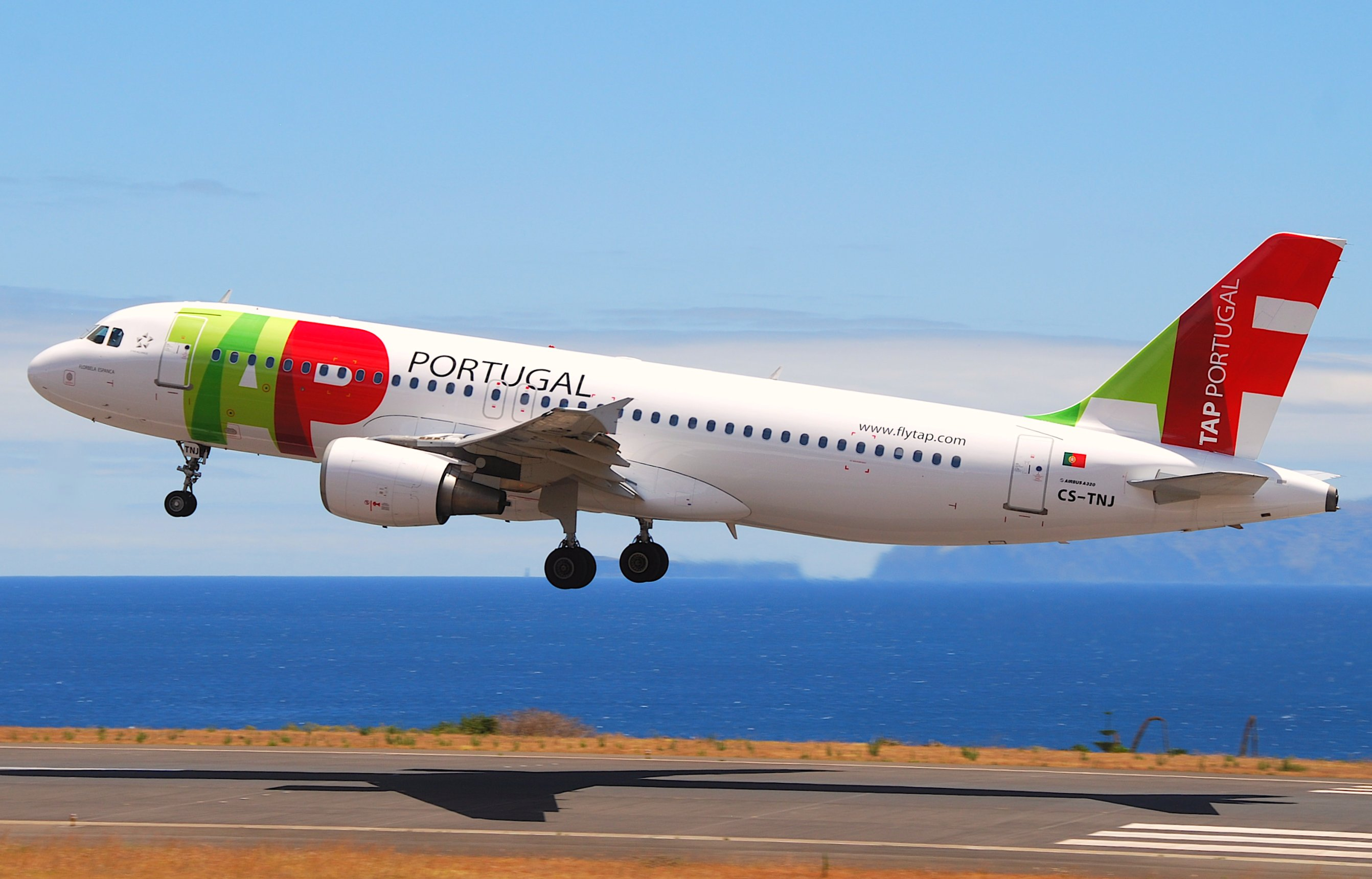 Airbus A320 fra TAP Air Portugal