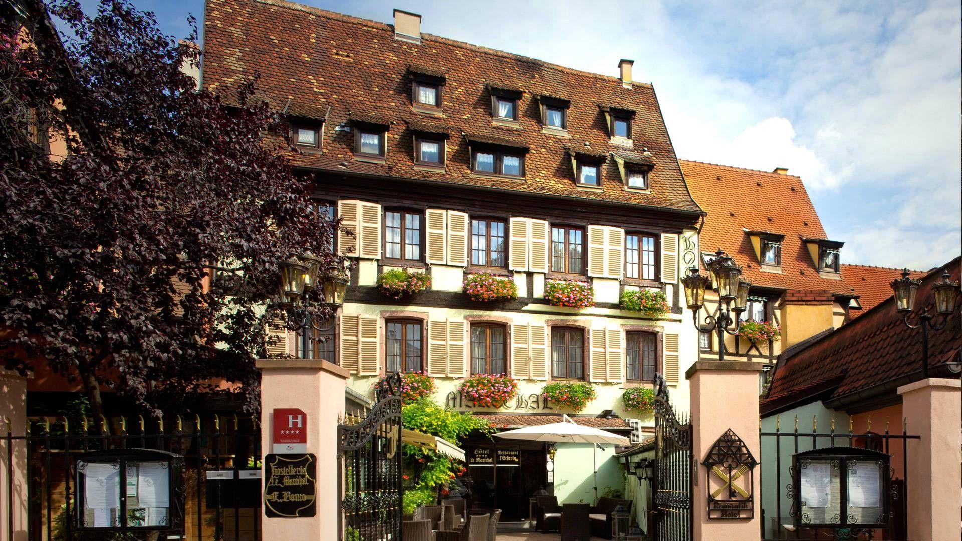 Hotel Le Marechal Im Elsass Siglinde Fischer