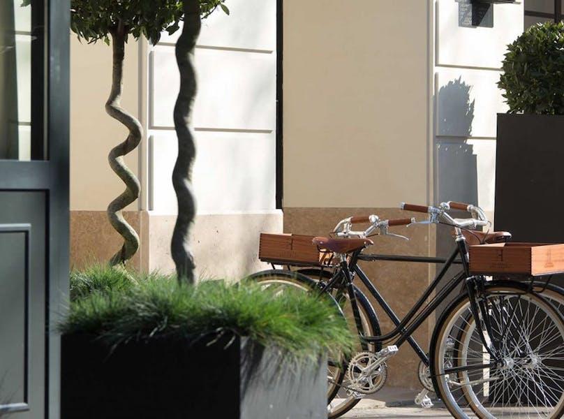 la villa haussmann paris frankrig. Black Bedroom Furniture Sets. Home Design Ideas