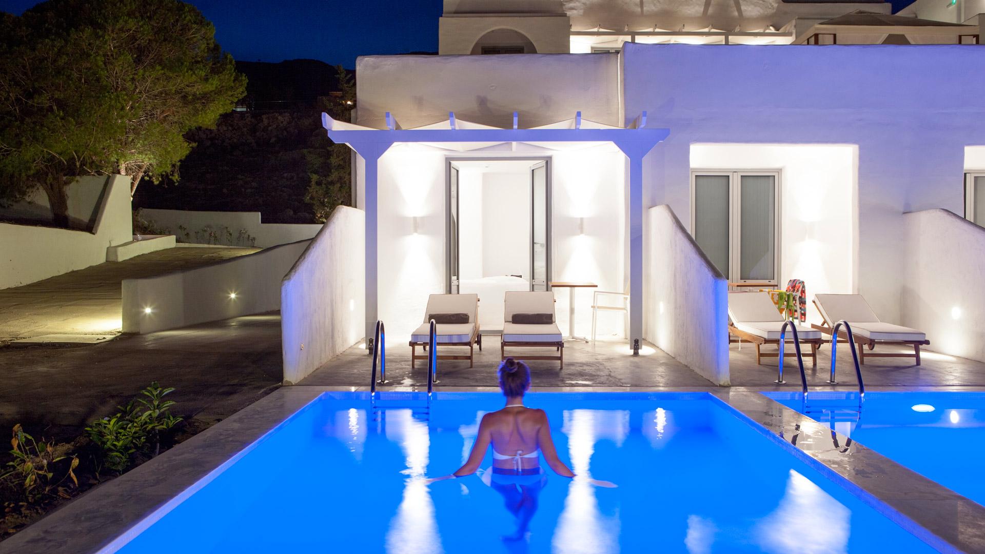 hotell med egen pool italien