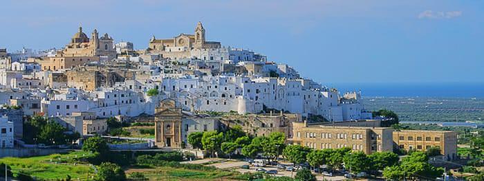 Städte in Apulien