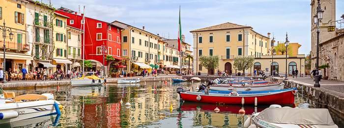 Gardasee Städte und Ortschaften