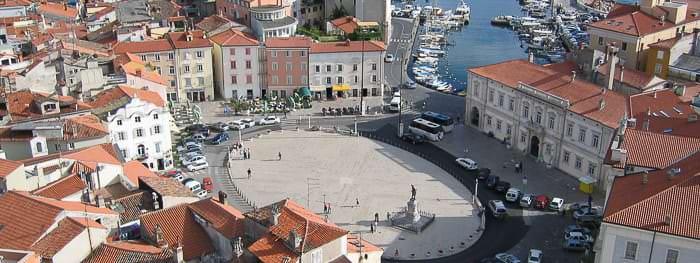 Städte und Ortschaften Istriens