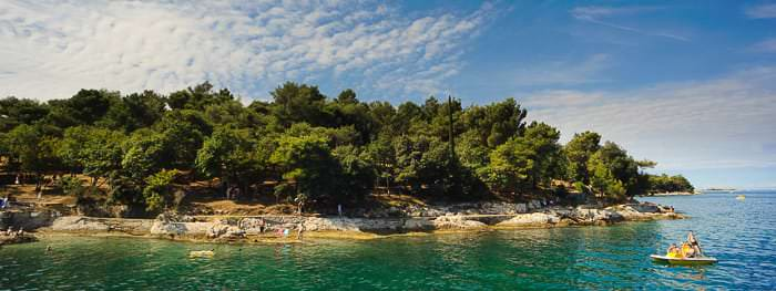 Küsten und Strände in Istrien