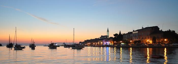 Feriendomizile an der Küste Istriens