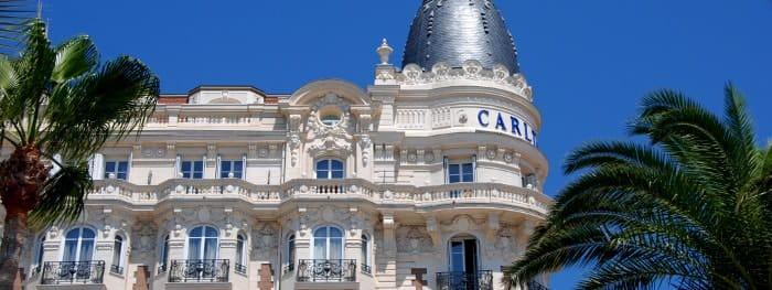 Cannes, Carlton und Croisette