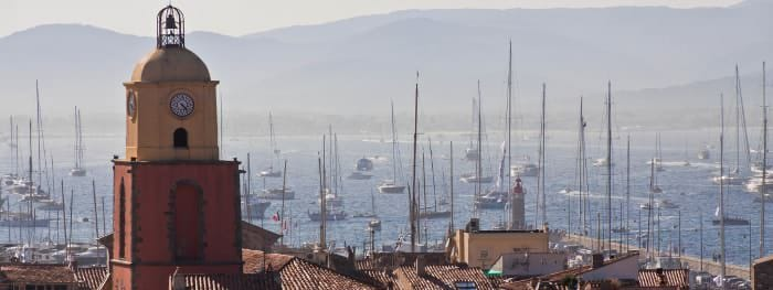 St. Tropez an der Côte d'Azur