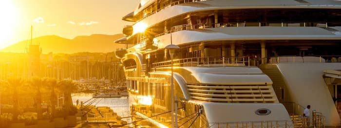 Luxus an der Côte d'Azur