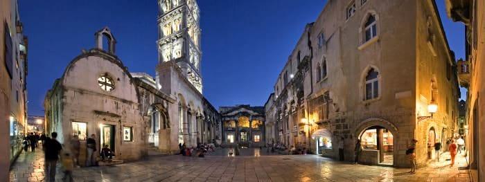 Die Städte Dalmatiens