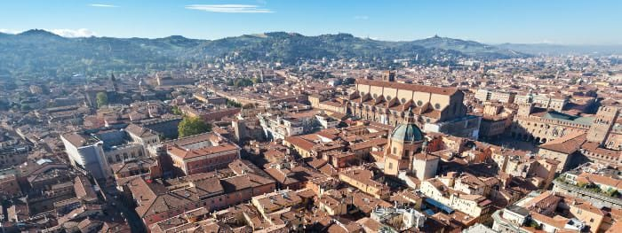 Bologna in der Emilia-Romagna