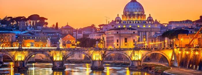 Rom ist die Hauptstadt Italiens