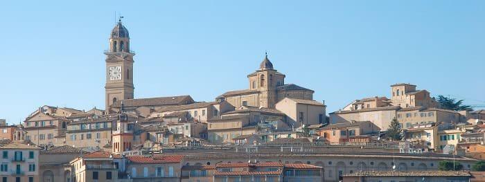 Urbino in den Marken