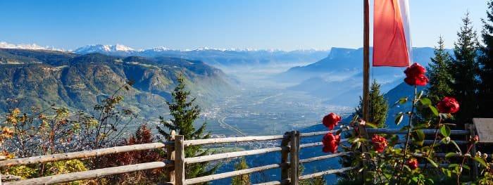 Südtirol ist ein bekanntes Weinanbaugebiet