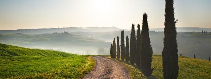 Die vielfältigen Landschaften der Toskana