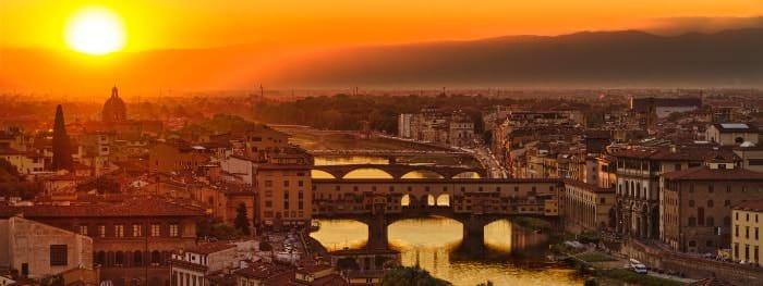 Die toskanische Hauptstadt Florenz