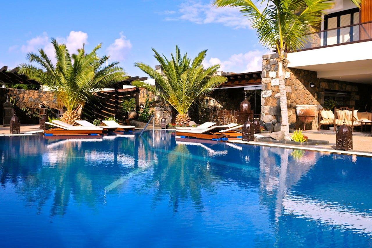 Spanien Lanzarote Karta.Villa Vik Hotel Boutique Lanzarote Hideaways